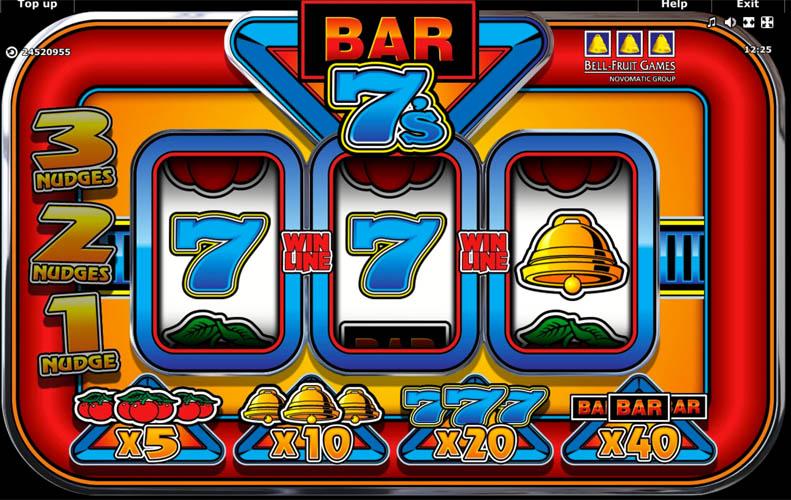 Bar 7's gokkast