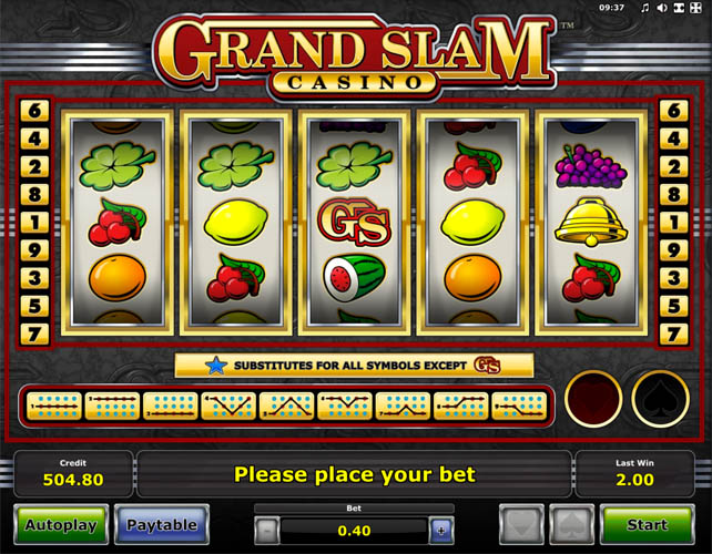 Grand Slam Casino gokkast